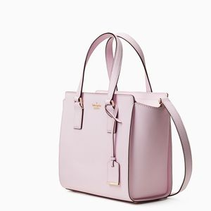 Pink lemonade Hayden saffiano bag